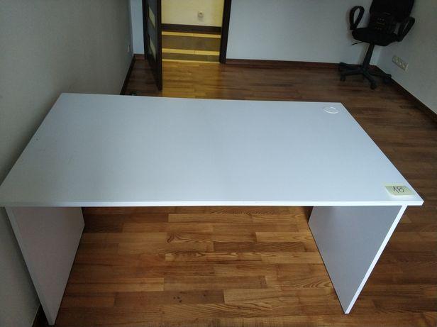 Biurko białe z płyty meblowej