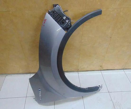 Toyota C-HR капот бампер фара крыло передняя панель телевизор фонарь