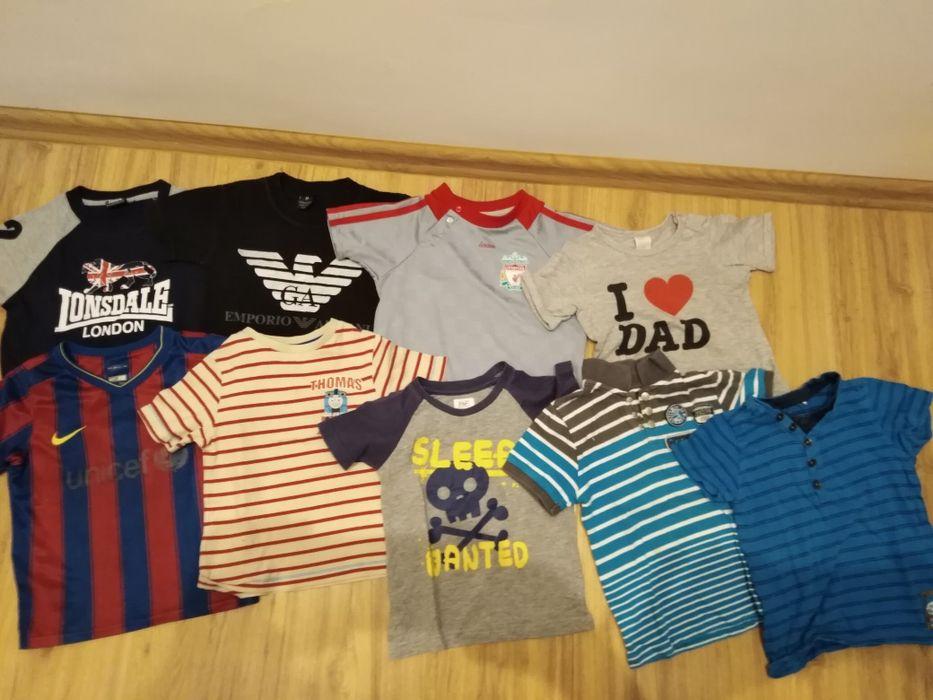 Koszulki chłopięce rozm 86-92 9szt Przemków - image 1