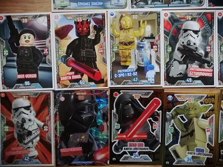 Lego Star Wars - karty Trading Card Collection seria 2 - 33szt