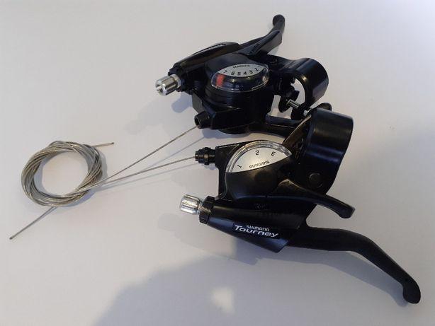 Переключатели скоростей/моноблоки/манетки Shimano Tourney ST-EF40: 3х7