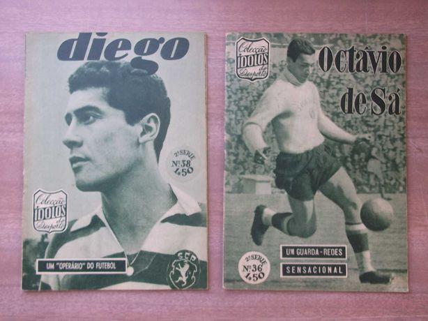 Revista ÍDOLOS  Biografias - OCTÁVIO de SÁ (1960) DIEGO (1960)