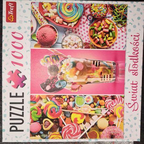 Puzzle 1000 trefl świat słodkości