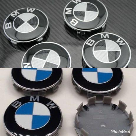 4 tampas tampões centro de jante BMW 68mm novas
