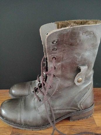 Buty zimowe oficerki