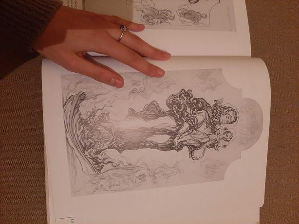Книга по искусству с картинами