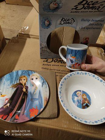 Детская посуда из 3 частей