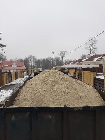 Песок щебень мусор