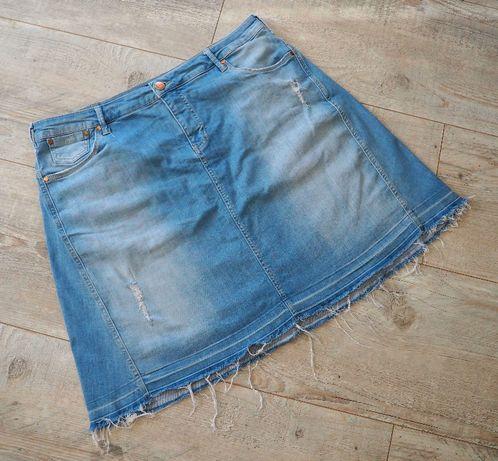 Zizzi_spódnica jeansowa blue denim_rozmiar 50/52