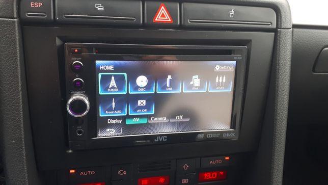 Radioodtwarzacz JVC samochodowy 2 DIN