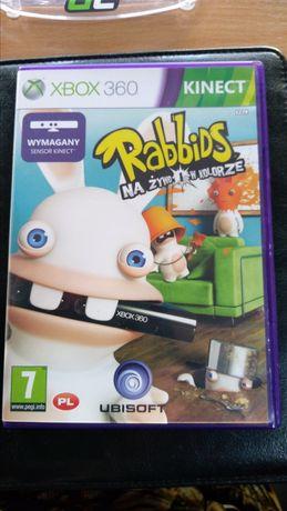Rabbids Kinect Xbox 360 gra