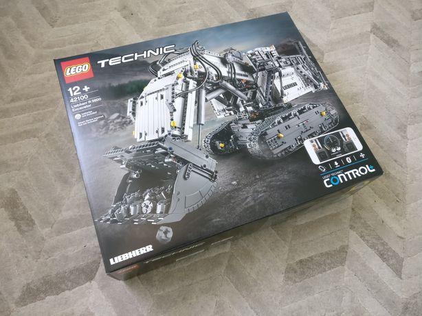Lego Technic 42100 Koparka Liebherr, nowy zestaw