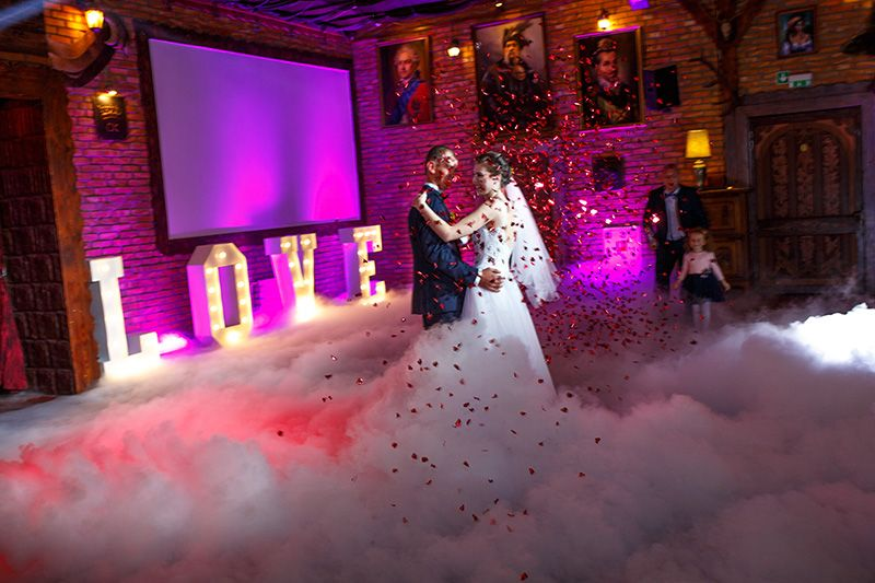 Napis Love , Ciężki dym , Fotobudka lub Fotolustro fontanna iskier Przasnysz - image 1