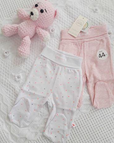 Вещи на новорожденную девочку р.56 Lupilu и Cool club