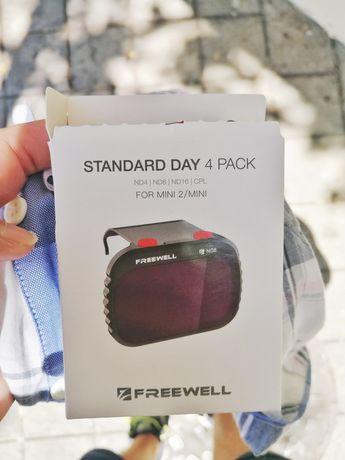 Filtros ND Freewell standard day 4 pack para Dji Mini 2/Mavic mini