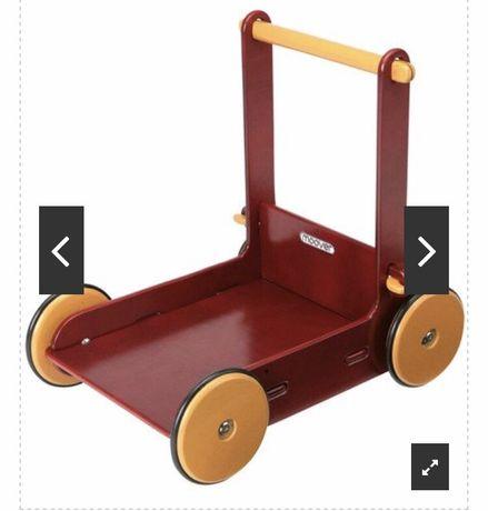 Sprzedam pchacz chodzik drewniany moover