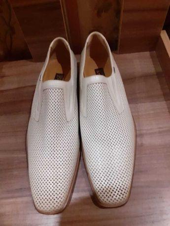 Новые кожаные итальянские туфли 46 размера