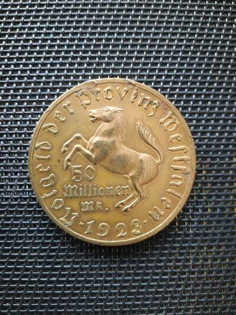 Moneta 50 Millionen Mark 1923