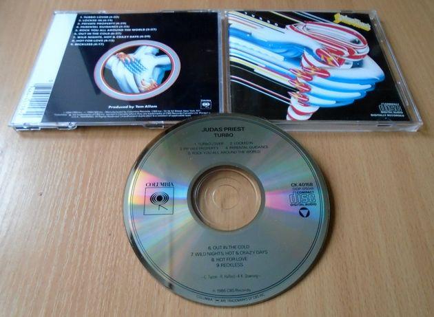 JUDAS PRIEST – Turbo [фирменный CD, USA DADC, ранний неремастер]