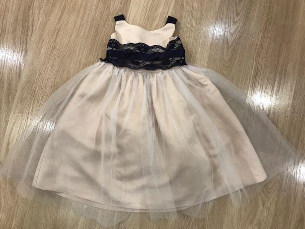 Платье нарядное) пышное платье) бежевое платье)