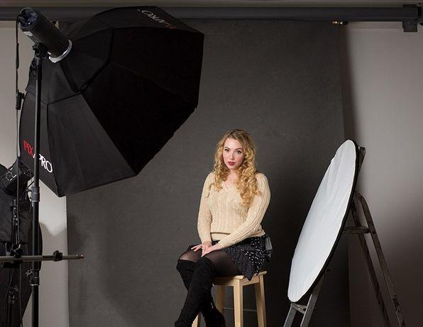 Studio fotograficzne - wynajem pod sesje beauty, glamour. FOTO Rybnik.