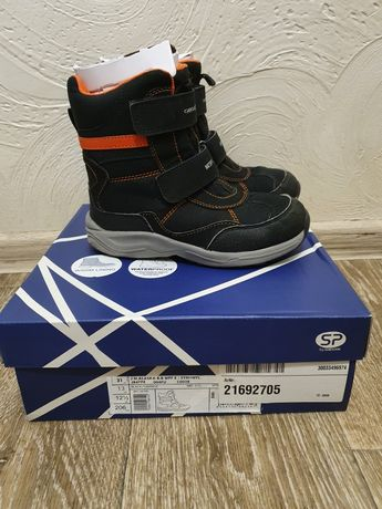 Geox зимние термо ботинки waterproof 31 размер 20см