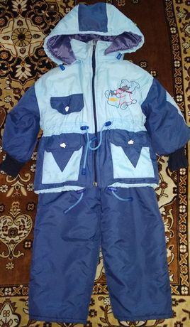 Продам деми комбинезон (куртка и штаны) на мальчика или девочку