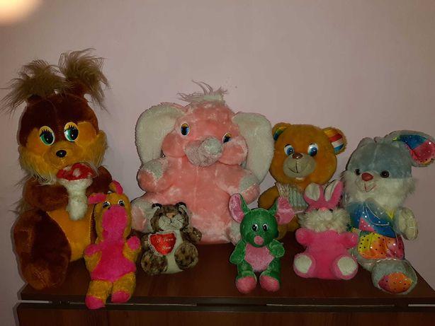 Набір м'яких іграшкок