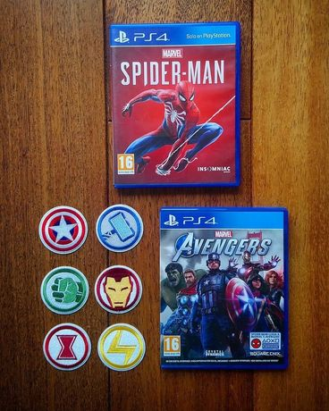 Мстители Marvel avengers Spider man человек паук PS4 Horizon Nioh 2