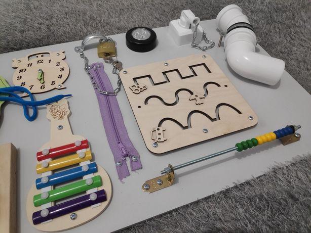 Tablica mata manipulacyjna sensoryczna dziecko XXL