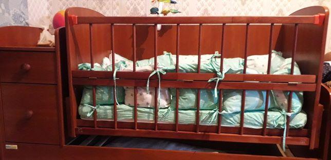 Кроватка люлька 3в1