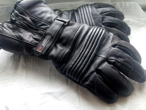 Мото перчатки-краги кожаные XXL