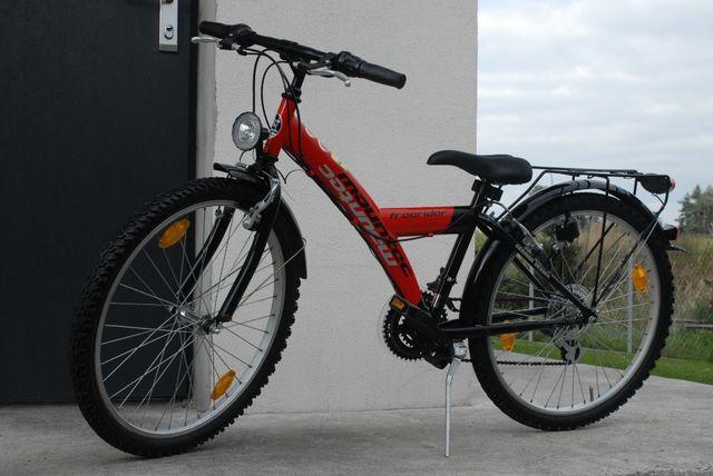 Niemiecki rower młodzieżowy Prophete koła 24 biegi 3x6 rama 34 cm