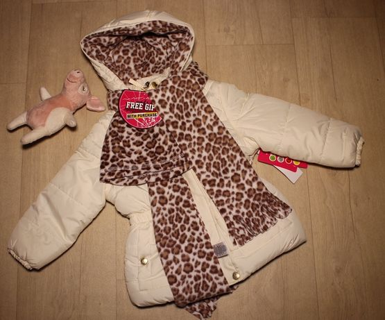 Куртка зимняя на девочку 4 года