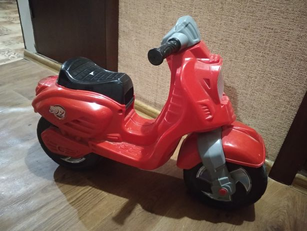 Детский мотоцикл толкачик