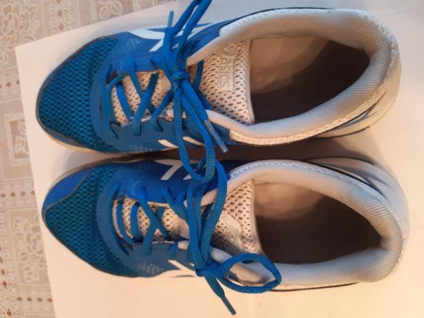 Buty sportowe niebieskie firmy asics rozmiar 41,5