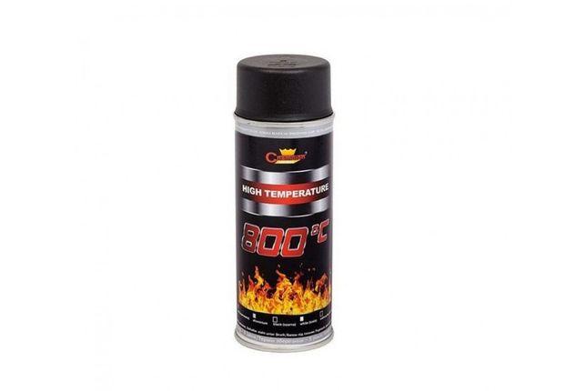 Спрей краска Термостойкая CHAMPION COLOR фарба термостійка, універсал.