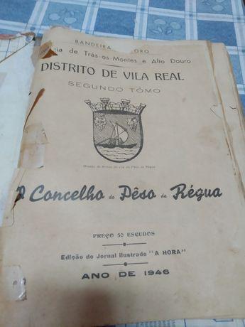 Livro história conselho Peso da Régua 1946