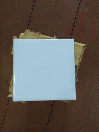 Белоснежная облицовочная плитка 15 на 15 см