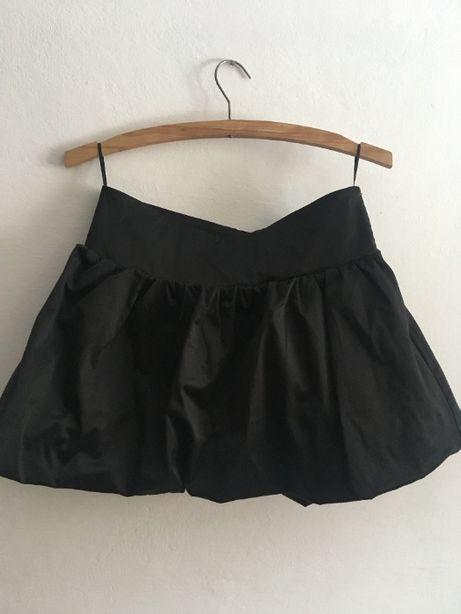 Czarna krótka spódniczka House S