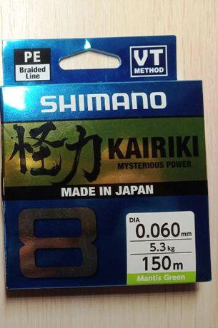 Продам Shimano Kairiki 8 PE (Mantis Green)