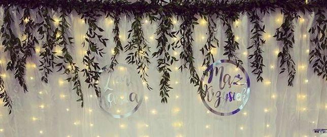 Ślub akcesoria, naklejki na obuwie, srebrne koła na ściankę