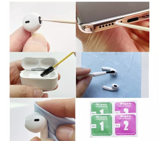 Kit limpeza airpods / fones