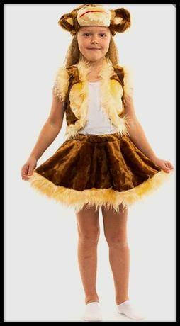 Новогодний карнавальный костюм для девочки