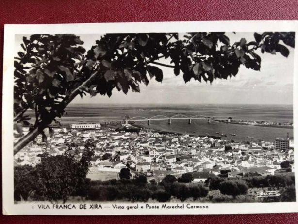 Postal V.F. Xira 1950 selado
