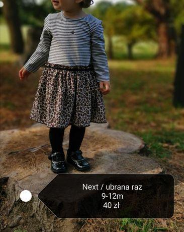 Sukienki Next 9-12m