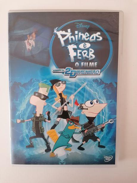 DVD Phineas e Ferb