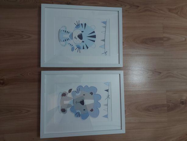 Ramki z obrazkami do pokoju dzieciecego