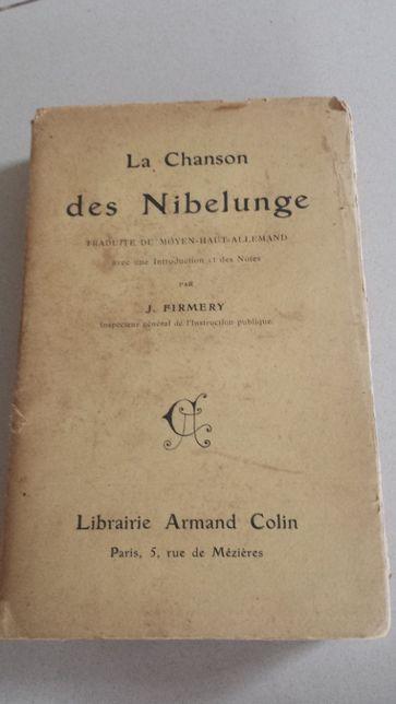 La chanson Des Nibelunge de 1909 antigo