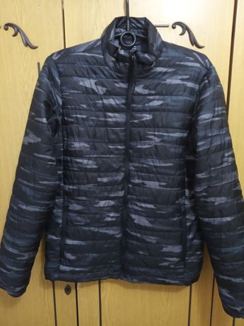 Расспродажа. Куртка весна-осень, чёрная, Размер 44-46